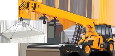 Loaded Crane